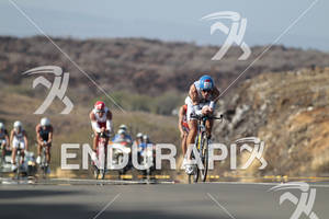 Andreas Raelert on the bike portion of the 2011 Ford Ironman World Championship in Kailua-Kona, HI. October 8, 2011.