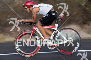 Pedro Gomes on bike at the 2011 Ford Ironman Arizona