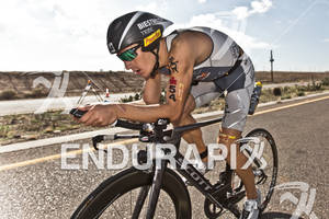 Sebastian Kienle (DEU) on bike at the 2011 Ford Ironman Arizona