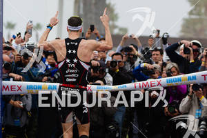 Andy Potts is number one at the  Ironman 70.3 California on March 31, 2012  in Oceanside, CA