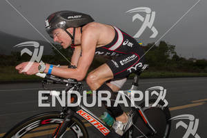 Andy Potts on bike at the  Ironman 70.3 California on March 31, 2012  in Oceanside, CA