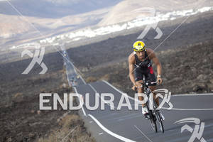 Alvaro Velazquez  on the Bike portion of the 2012 Ironman Lanzarote May 19, 2012 in Canary Islands,Spain