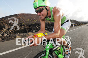Bert Jammaer on the bike portion of the 2012 Ironman Lanzarote May 19, 2012 in Canary Islands, Spain