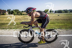 Reeven Nathan on his BMC at the Ironman 70.3 Racine, in Racine, Wisconsin on July 15, 2012