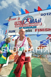 Alexandre Ribeiro wins 6th title at the 28th Ultraman World Championships held on the big Island of Hawaii on November 23-25, 2012