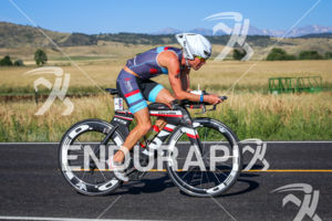 Scott Defilippis on bike early in the race at the  Ironman Boulder on August 3, 2014 in Boulder, Colorado