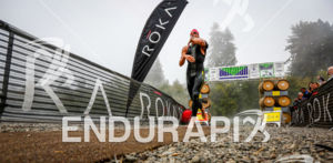 ROKA athlete exits the water at the 2015 Vineman Triathlon on July 25 in Sonoma County, California