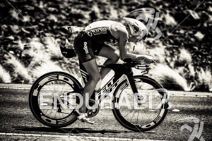 Daniela Ryf (CHE) competes during the bike leg at the 2015 Ironman World Championship in Kailua-Kona, HI on October 10, 2015.