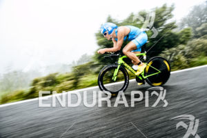 Andreas Dreitz (GER) competes during the bike leg at the 2016 Ironman 70.3 Mallorca on May 07, 2016 in in Port d'Alcudia, Mallorca, Spain