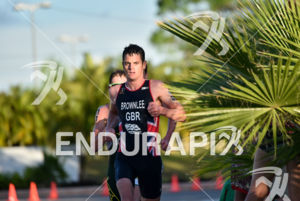 Jonathan Brownlee (GBR) during the bike portion of the 2016 WTS Cozumel in Cozumel, Mexico on September 11 to 18, 2016.