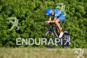 Andreas Raelert during the bike portion of the 2016 Ironman 70.3 Miami in Miami FL, USA on October 23, 2016.