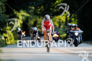 Daniela Ryf during the bike portion of the 2017 Ironman 70.3 World Championship in Chattanooga, TN, USA, on Sep. 09, 2017.