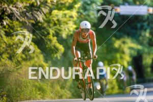 Emma Pallant during the bike portion of the 2017 Ironman 70.3 World Championship in Chattanooga, TN, USA, on Sep. 09, 2017.