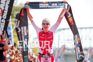 Daniela Ryf during the finish portion of the 2017 Ironman 70.3 World Championship in Chattanooga, TN, USA, on Sep. 09, 2017.