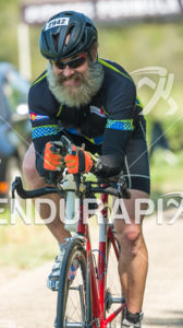 Older athletes have fun cycling too at the 2017 Ironman Wisconsin on September 10, 2017 in Madison, WI.