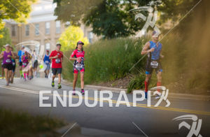 Scenic views hid the very tough hills on the run at the 2017 Ironman Wisconsin on September 10, 2017 in Madison, WI.