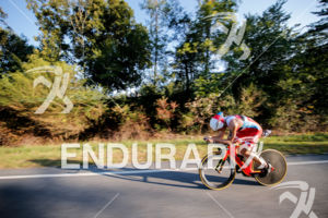 Javier Gomez during the bike portion of the 2017 Ironman 70.3 World Championship in Chattanooga, TN, USA, on Sep. 10, 2017.