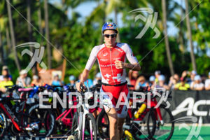 Daniela Ryf (SUI) competes during the bike leg at the 2017 Ironman World Championship in Kailua-Kona, Hawaii on October 14, 2017.