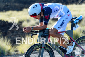 Jan Frodeno (GER) competes during the bike leg at the 2017 Ironman World Championship in Kailua-Kona, Hawaii on October 14, 2017.
