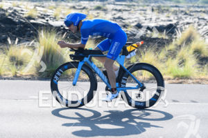 Patrick Lange (GER) competes during the bike leg at the 2017 Ironman World Championship in Kailua-Kona, Hawaii on October 14, 2017.