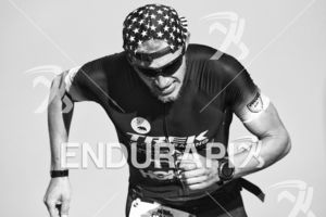 Ben Kanute climbs the infamous Sand Ladder at Escape From Alcatraz Triathlon on June 3, 2018 in San Francisco, CA.