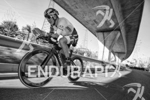 Kristian Blummenfelt during the bike leg at the 2018 Beijing International Triathlon on September 23, 2018 in Beijing, China.f