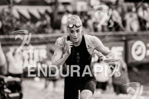 Lucy Charles (GBR) prepares for the 2018 Ironman World Championship in Kailua-Kona, HI on October 13, 2018.