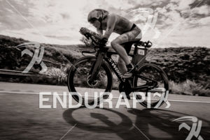Lucy Charles (GBR) competes during the bike leg at the 2018 Ironman World Championship in Kailua-Kona, HI on October 13, 2018.