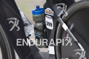 A participant hammers it on the bike leg at the 2019 Ironman Santa Rosa triathlon held in Sonoma County, CA on May 11, 2019.