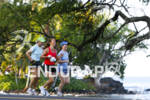 The day before the 2010 Kona Ironman Triathlon. Atheletes training