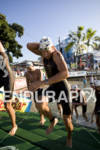 Christian Ritter exits the swim in the 2010 Ford Ironman…