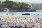 Swimmers at the start of the 2010 Ford Ironman World…