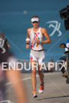 Julie Dibens in the run portion of the 2010 Foster…