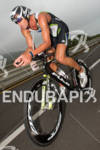 Matt Reed on the bike at the Rohto Ironman 70.3…