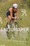 Magali Tisseyre on the bike at the Rohto Ironman 70.3…