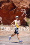 Mathias Hecht on his second lap of the run in…