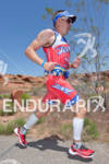 Ben Hoffman (USA) on run at the 2011 Ford Ironman,…