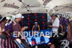 Heather Wurtele (CAN during post race press conference at the…
