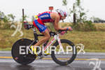 Tim O'Donnell bikes at the 2011 Memorial Herman Ironman Texas