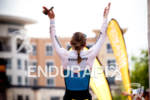 Catriona Morrison GBR waves to crowd after win at the…