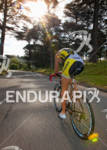 Leanda Cave bikes through Golden Gate Park at the 2011…