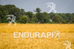 Athletes bike through the fields of the Eastern Shore at…