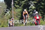 Maik Twelsiek bikes at the 2011 Ford Ironman Coeur d'…