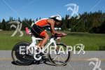 Raul Furtado on bike at the 2011 Ford Ironman Coeur…