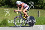 Kyle Pawlaxzyk on bike at the 2011 Ford Ironman Coeur…