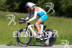 Lewis Elliot on bike at the 2011 Ford Ironman Coeur…