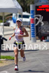 Desiree Ficker on run at the 2011 Ford Ironman Coeur…