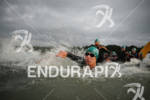 An  athlete at the start of the Frankfurter Sparkasse Ironman…