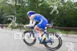 Tyle Stewart on bike at the 2011 Ford Ironman Lake…