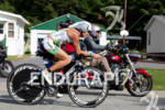 Jacqui Gordon on bike at the 2011 Ford Ironman Lake…